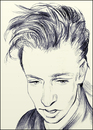 Cartoon: Alan Wilder (small) by condemned2love tagged depeche,mode