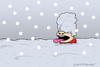 Cartoon: Heavy snowing (small) by Mandor tagged heavy,snowing