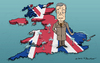 Cartoon: Nigel Farage (small) by Mandor tagged nigel,farage,brexit