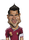 Cartoon: Tomas Rincon (small) by jaime ortega tagged tomas,rincon