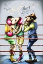Cartoon: The BoxingBlues... (small) by LuciD tagged lucido5 surrelism times art nature creation god zodiac love peace humor world fasion sport music real animals happy holy drawings cartoon pictures photo cool mony football life live sky flower light water high tags lol friend children sex xxx