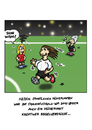 Cartoon: FIFAFRAUENWM (small) by Marcus Trepesch tagged soccer,fifa,women,football,20111,germany,sports,birgit,prinz,wm