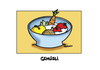 Cartoon: Gemuesli (small) by Marcus Trepesch tagged vegetables,cartoon,words