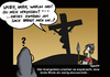 Cartoon: So wars (small) by Marcus Trepesch tagged jesus,funnie,religion,bible,cartoon