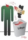 Cartoon: ayd!L (small) by Tonho tagged gaddafi