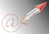 Cartoon: Signature (small) by Tonho tagged network arroba pen