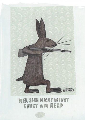Cartoon: hase (medium) by karo tagged happy,easter,tag,2010
