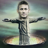 Cartoon: Neymar (small) by funny-celebs tagged footballer,fc,barcelona,brazil,world,cup,forward,winger,soccer
