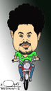 Cartoon: junior super  star (small) by koyaskodinhi tagged caricature