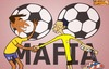 Cartoon: MAFIA (small) by emir cartoons tagged brasil,emir,2014,cartoon,caricature,football,world,cup