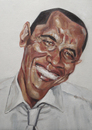 Cartoon: Barack Hussein Obama (small) by Dailydanai tagged barack,obama,president,united,states,of,america,politics,dailydanai