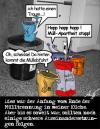 Cartoon: Muelltrennung (small) by Anjo tagged mülltrennung,martin,luther,king,apartheit,gelber,sack,grüner,punkt