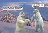 Cartoon: Yetis (small) by jonigg tagged yeti,messner,himalaya,winter,gebirge,fantasy