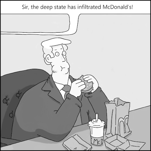 Cartoon: McDeeps (medium) by creative jones tagged mcdonalds,tweet,deep,state,robert,gibs,silent,pro,trump,cartoon,coup,president,bag,lunch,food,big,mac,burger,eating,habits,well,done,ketchup,mcdonalds,tweet,deep,state,robert,gibs,silent,coup,president,trump,bag,lunch,food,big,mac,burger