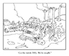Cartoon: bogged down (small) by creative jones tagged mudding,truck