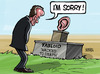 Cartoon: Hacked to death (small) by Satish Acharya tagged hackgate,murdoch,tabloid,hacking