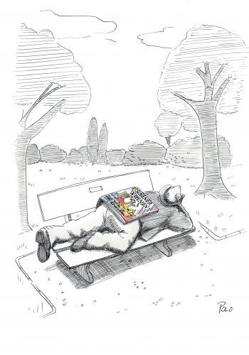 sch ner wohnen von polo medien kultur cartoon toonpool. Black Bedroom Furniture Sets. Home Design Ideas