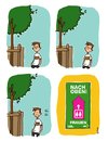 Cartoon: Wahlkampf... (small) by gallion tagged gallion,handschuhfisch,people,tagebuch,comicstrip