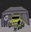 Cartoon: Batman (small) by Musluk tagged batman,car,headlight,gag,joke