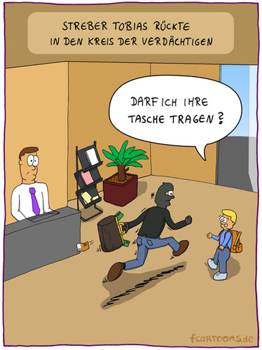 Cartoon banküberfall medium by fcartoons tagged banküberfall