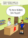 Cartoon: Apotheke (small) by fcartoons tagged apotheke,fußball,fussballer,manfred,apotheker,arznei,pille,schrank,kittel,cartoon,comic