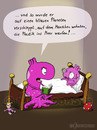 Cartoon: Gute Nacht Geschichte (small) by fcartoons tagged gute nacht geschichte mama mutter kind alien lesen cartoon comic fcartoons licht dunkel umwelt plastik buch bett bed book environment öko read