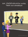 Cartoon: STREBER TOBIAS (small) by fcartoons tagged geek,polizei,gegenüberstellung,tobias,mafia,streber