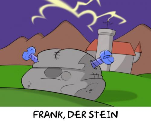 Cartoon: Frank (medium) by Rob tagged frankenstein
