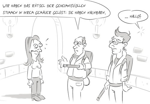 Cartoon: Ghostbusters (medium) by Rob tagged ghostbusters,geisterjäger,schloss,rob