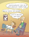Cartoon: Beim Psychiater (small) by Rob tagged psychiater,patient,kunde,rorschach,therapie,phobie,angst,fear