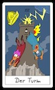 Cartoon: Der Turm (small) by Rob tagged tarot,card,cards,karte,karten,der,turm,the,tower