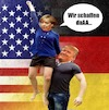 Cartoon: Deutsch-Amerikanische Beziehung (small) by Rob tagged angela,merkel,donald,trump,deutschland,germany,us,usa,amerika,america,fist,fisting