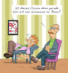 Cartoon: Psychidiot (small) by Rob tagged corona,coronavirus,covid,19,virus,pandemie,psychiater,couch,psycho