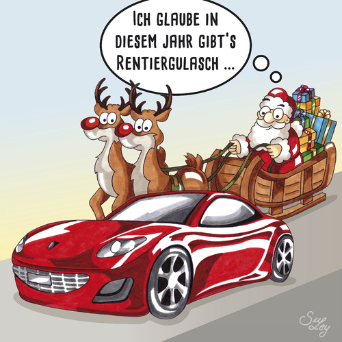 Rentiergulasch Von Suley Beruhmte Personen Cartoon Toonpool