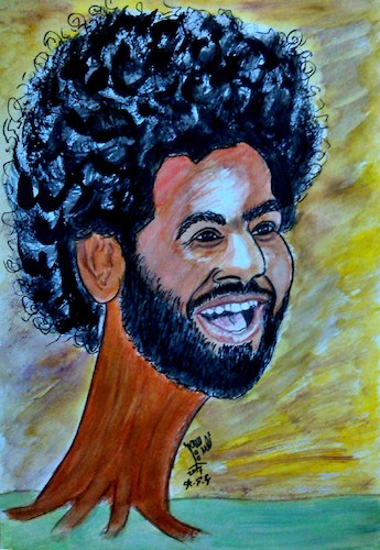 Cartoon: world cup 2018 (medium) by AHMEDSAMIRFARID tagged salah,ahmedsamirfarid,ahmed,samir,farid,mo,cartoon,caricature,egypt,worldcup,egyptair