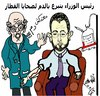 Cartoon: LACK OF BLOOD (small) by AHMEDSAMIRFARID tagged blood,lack,ahmed,samir,farid,hesham,kandil,egypt,hospital