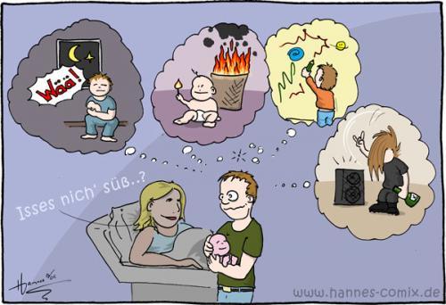 Cartoon geburtskrise medium by hannes tagged geburt kind säugling