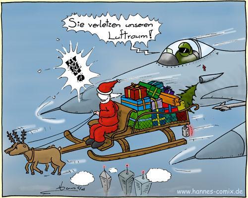 Luftraumverletzung von Hannes | Medien & Kultur Cartoon | TOONPOOL