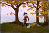 Cartoon: Herbstspaziergang (small) by Hannes tagged halloween,herbst,herbstspaziergang,herbstwald,kürbis,wald