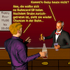 Cartoon: Bargespräche 6 (small) by PuzzleVisions tagged puzzlevisions,bahn,railway,railroad,grube,chef,chief,manager,rücktritt,retirement