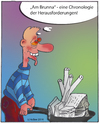 Cartoon: Bauchronologie (small) by toBee tagged bau,frust,architekt