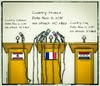 Cartoon: Terrorism and News Coverage (small) by Babak Massoumi tagged france,media,isis,lebanon,iraq,terrorism