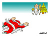 Cartoon: Christmas Is Coming... (small) by Amorim tagged christmas santa claus