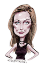 Cartoon: Catherine Schell (small) by Ian Baker tagged catherine,schell,caricature,ian,baker,cartoon,60s,70s,actor,actress,sci,fi,james,bond,beauty,beautiful,girl,spave,1999