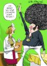 Cartoon: Greeting Card Design (small) by Ian Baker tagged disco