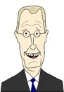 Cartoon: David Letterman (small) by gustavomchagas tagged david,letterman,late,show,with,cbs,talk