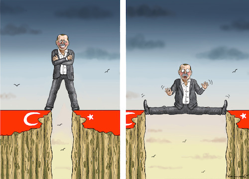 Cartoon: ERDOWAHNSINNIGER TÜRKENSPALTER (medium) by marian kamensky tagged cumhuriyet,erdogan,cavusoglu,referendum,pressefreiheit,türkei,denit,yücel,cumhuriyet,erdogan,cavusoglu,referendum,pressefreiheit,türkei,denit,yücel