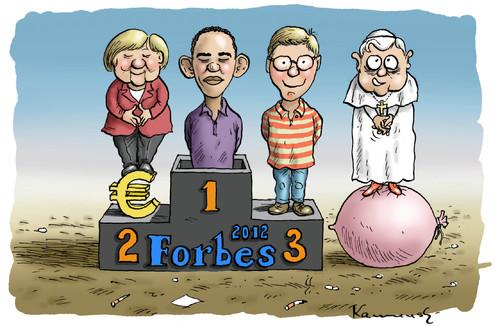 Cartoon: Forbes Theater 2012 (medium) by marian kamensky tagged forbes ...