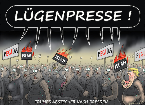 Cartoon: WENN TRUMP GERMANY BESUCHT (medium) by marian kamensky tagged obama,trump,präsidentenwahlen,usa,baba,vanga,republikaner,inauguration,demokraten,wikileaks,faschismus,obama,trump,präsidentenwahlen,usa,baba,vanga,republikaner,inauguration,demokraten,wikileaks,faschismus