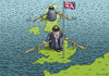 Cartoon: Brexit Kampf (small) by marian kamensky tagged cameron,brexit,eu